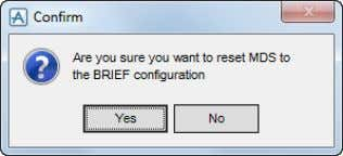 Currently this demonstration set is not configurable. Select Brief Click the Yes button. The Pipe Supports