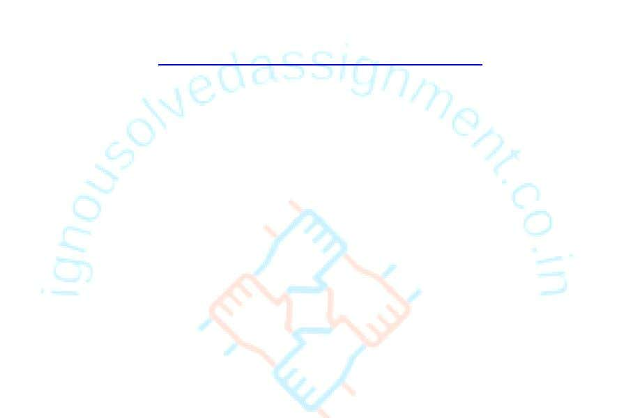 provided by the university. http://www.ignousolvedassignment.co.in www.ignousolvedassignment.co.in DRM Software Reviews