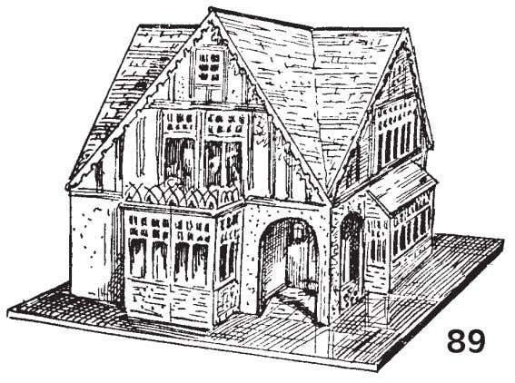 "(Fig. 89.) HOUSE TO BE SOLD GUARANTEED FOR TWO YEARS. As the band plays ""Home, Sweet"