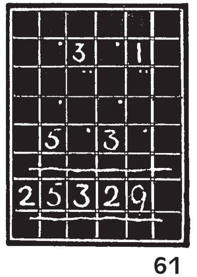 painted black and white lined to resemble the missing spaces. Fig. 61 illustrates the face of
