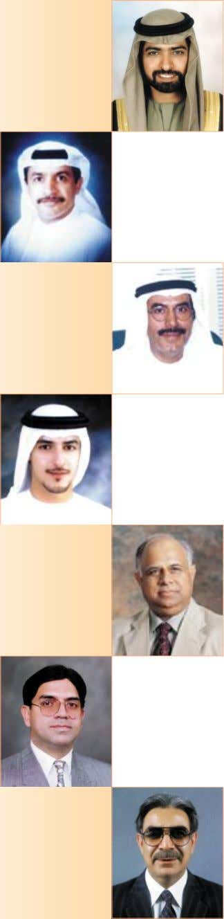 Saeed Al Otaiba Mr. Ikram Ul-Majeed Sehgal Mr. Nadeem Iqbal Sheikh Mr. Mohammad Saleem Akhtar (Chief