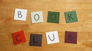 Page 3 Small Clubs Book Club: The book club is hosted by Sabina Squires and Julie