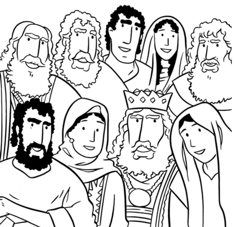 For more free children's stories, coloring pages and videos, visit www.freekidstories.org © The Family International