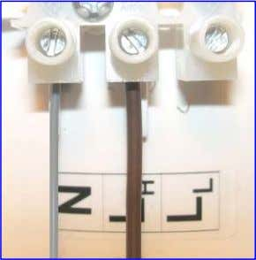 for Low or High speed settings from an external switch. Wiring Photograph: High Speed Wiring Photograph: