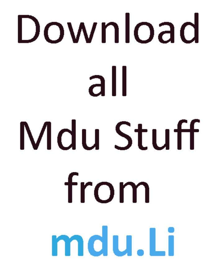 DownloadMDUQuestionPapers, SamplePapers,Results, ContestseverthingforFree!! RegisterNow