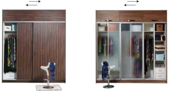 Wardrobe templates Select Your DOOR STYLE SWING SYSTEM SLIDING SYSTEM SLIDING SYSTEM PANEL DOOR PANEL DOOR