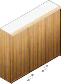 Wardrobe sliding door Product Code Description Dimensions (W x H) 3 x Sliding MR Doors QSL3MR-270