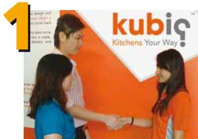 an arm or a leg. 5 EASY STEPS TO GET YOUR KITCHEN DONE! Visit Kubiq to