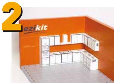 and installer to get your kitchen delivered and installed. Use the ezikit, a patented 3D kitchen