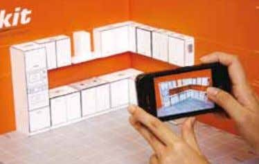 the miniature cabinets to form your preferred design layout. Once you are satisfied, just take a