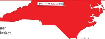 919-929-7133 | Visit us at southernseason.com Celebrate North Carolina Aug. 29 - Sept. 30 Majestic