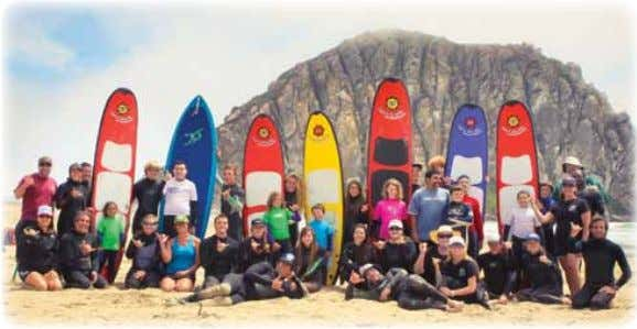 Getting Out Project Surf Camp Project Surf Camp is a nonprofit organization designed to educate individuals