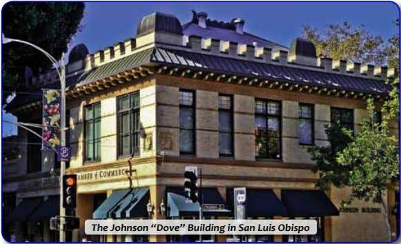 "The Johnson ""Dove"" Building in San Luis Obispo"