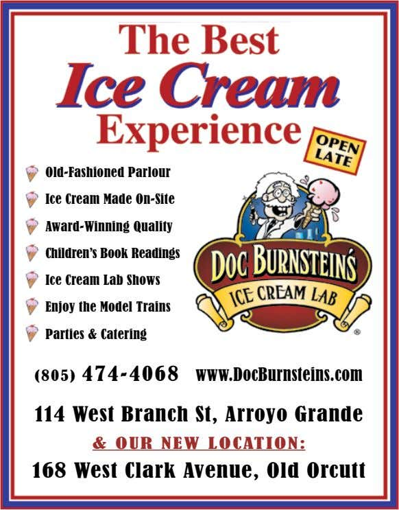 Old-Fashioned Parlour ice cream Made On-Site Award-Winning Quality children's Book readings ice cream Lab Shows