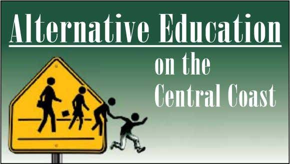 Alternative Education on the Central Coast