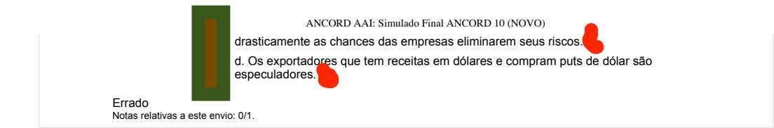 1/4/2018 ANCORD AAI: Simulado Final ANCORD 10 (NOVO) drasticamente as chances das empresas eliminarem seus