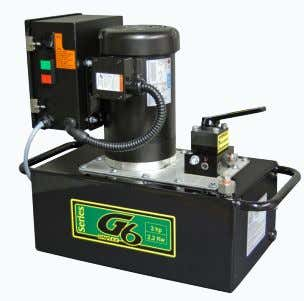 Electric G6335 Shown Reservoir Capacity  5 - 40 gallons Flow @ Rated Pressure  100