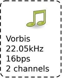 Vorbis 2 16bps 22.05kHz channels