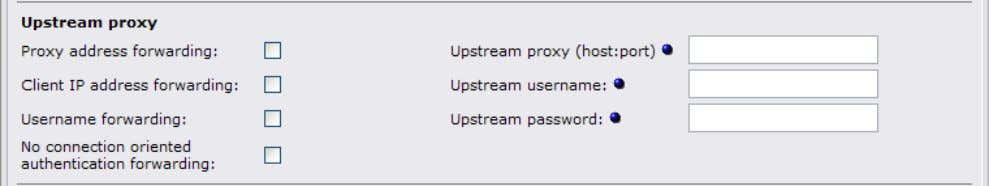 settings may be required for chained proxy environments. 4.2.1 Proxy address forwarding This enables the HTTP