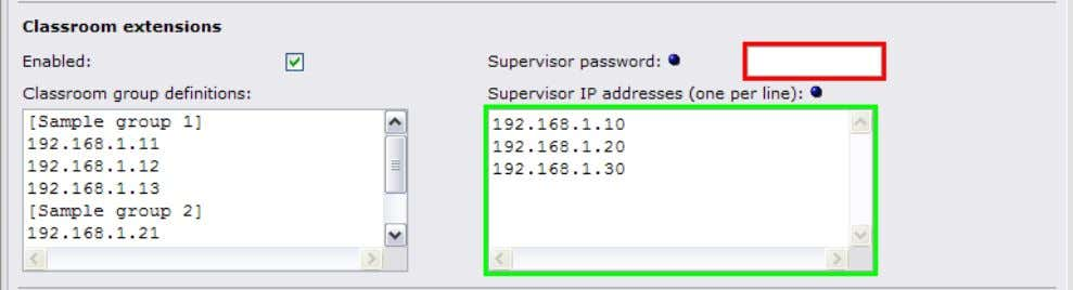management interface will appear in a view- only mode. 6.2.4 Level 4: Password set, IP restrictions