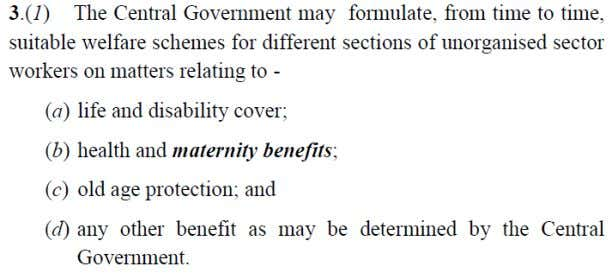 [INDIAN ECONOMY] Annexure - B Figure 1 Social Security Act – Benefits Figure 2 Social Security