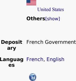 Others[show] United States Deposit French Government ary Languag French, English es
