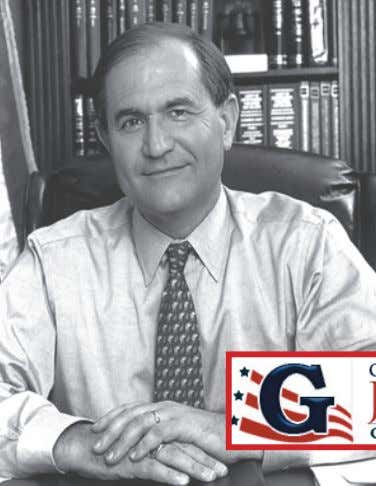 "intend to run for President."" ABOUT GOVERNOR JIM GILMORE • Former Virginia Governor • Former Virginia"