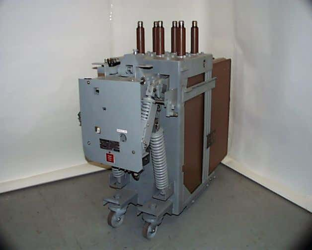 WHAT IS A MAGNE-BLAST CIRCUIT BREAKER • The Magne-Blast breaker was produced in several styles over
