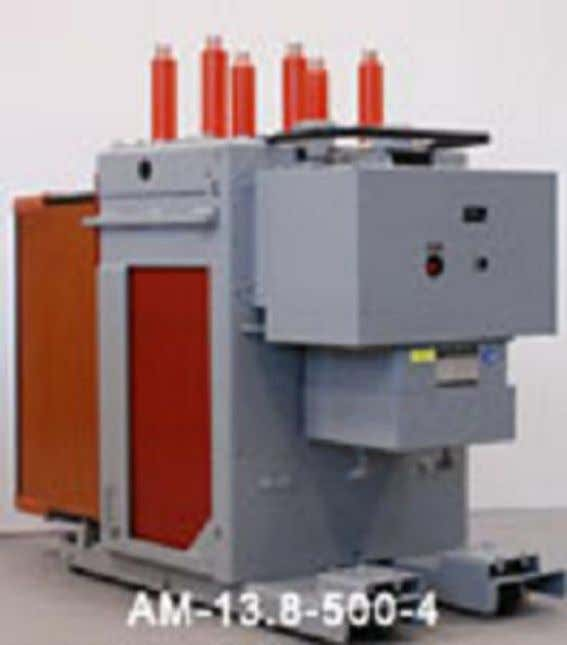 WHAT IS A MAGNE-BLAST CIRCUIT BREAKER • Early in production, the Ma g ne Blast breaker