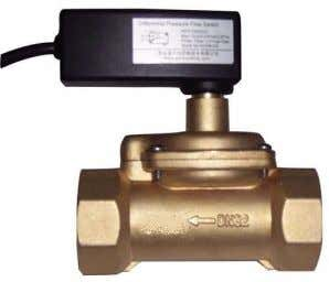 Pressure * Brass l Main Materials * Cable 1.5m, 2×0.5mm2 GE-518 Differential Pressure Control Flow Switch