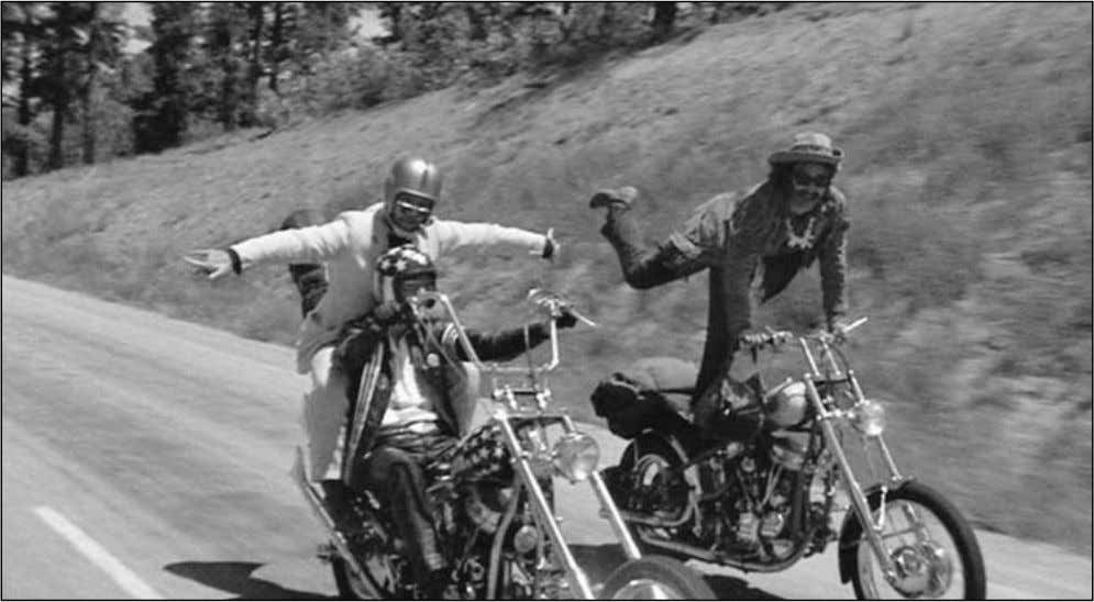 INTRODUCTION 21 The promise of freedom and its betrayal made Easy Rider (Dennis Hopper, Columbia, 1969)
