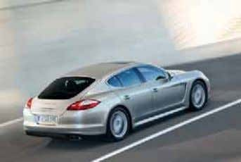 it is the four seater you would expect Porsche to build. MODEL ENGINE PERFORMANCE Panamera S*