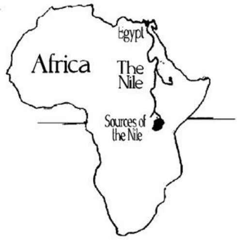 is located the land which in modern times is called Sudan. Egypt IS In Africa and