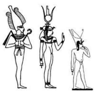 Neterus known as: Asar, Aset, Heru (Osiris, Isis and Horus) The tradition of Asar, Aset and