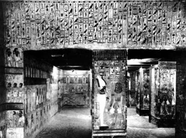 System- Given in the Tomb of Seti I. (c. 1350 B.C.E.) As we have seen, the