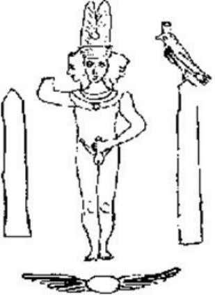 Figure 13: Below far right- the multi-armed (all-pervasive) dancing Shiva-whose dance sustains the Creation. Figure