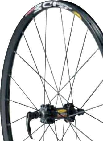 makes it more resistant and compatible with tubeless tires. Crossride Disc new Discover Mavic quality and