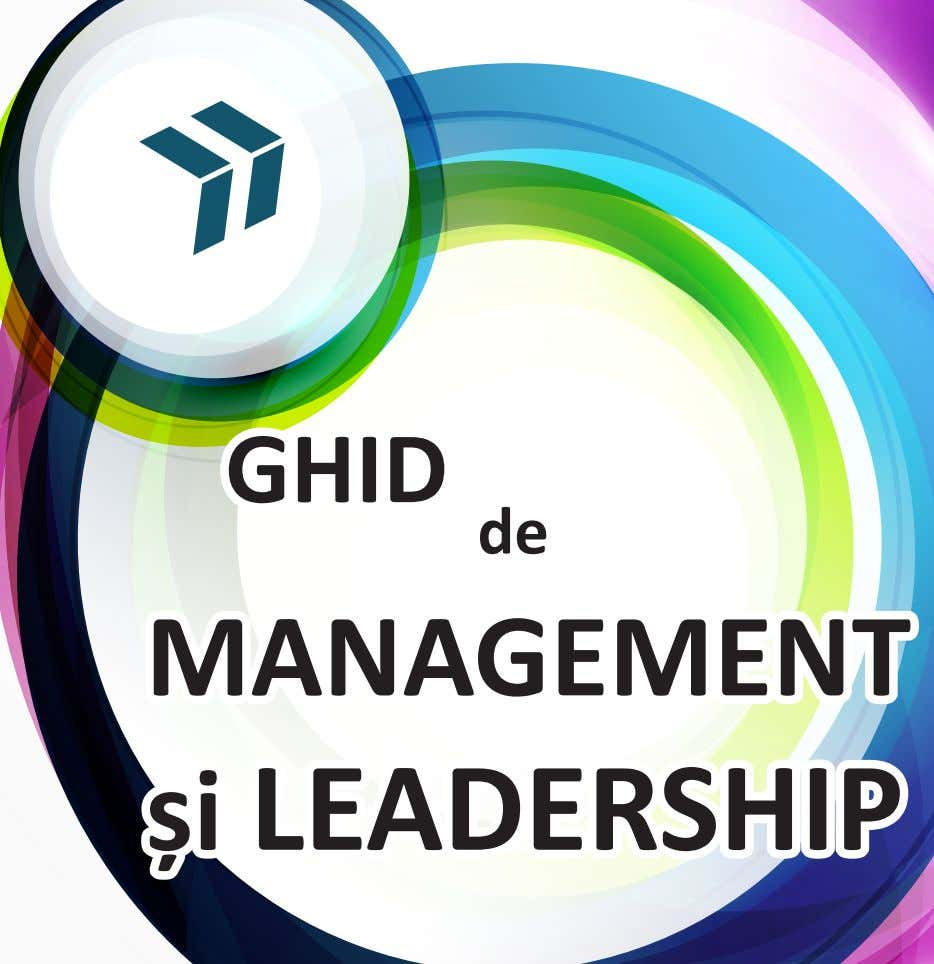 GHID de MANAGEMENT și LEADERSHIP