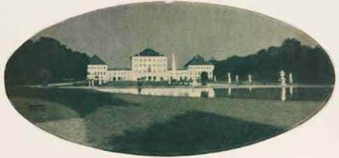 "on towards Gesundbrunnen. ¹ Linienstr. 85 ² Linienstr. 155 Heinrich Kühn, ""Untitled (Schloß Nymphenburg)"", 1897,"