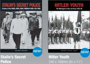 NEW! NEW! Stalin's Secret Hitler Youth Police 240 x 189mm (9 1 ⁄2 x 7