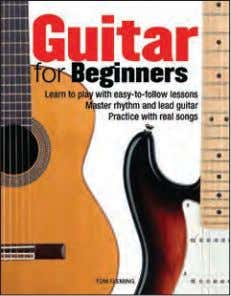 20,000 words Rights available: World ex Ca, NZ, US NEW! Guitar for Beginners 285 x 220mm