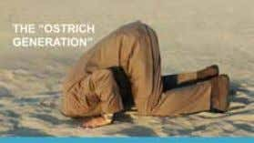 life, we stick our heads in the sand and hope that when we surface the stress