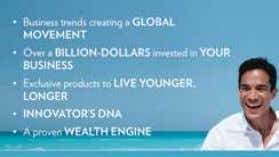 opportunity. – And finally, Nu Skin's wealth engine has been proven to generate personal prosperity. slide