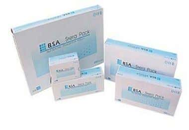 BUY 3 Boxes FREE 1 Bottle Tray Cleaner Stera Pouch Self-Seal Packing : 200 Sheets/Box Size