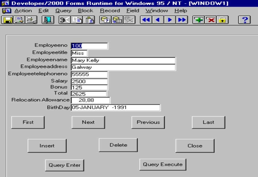 Oracle Forms Builder Page 10 of 24