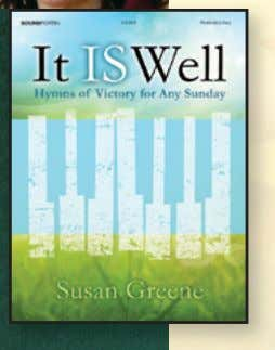 Susan Greene It Is Well Hymns of Victory for Any Sunday New! Moderately Easy • This