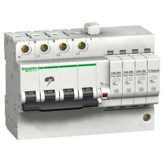 of service. Safe Efficient Easy selection Quick PF and Quick PRD Schneider Electric – Surge Protection