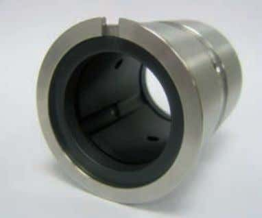 yields a hydrostatic bearing effect, which then stabilizes XYTREX bushing encased in stainless steel. XYTREX range