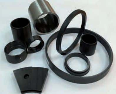 then stabilizes XYTREX bushing encased in stainless steel. XYTREX range of wear products for pump applications.