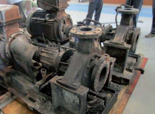 to ensure that the equip- ment would be restored within the www.worldpumps.com very fast turnaround that